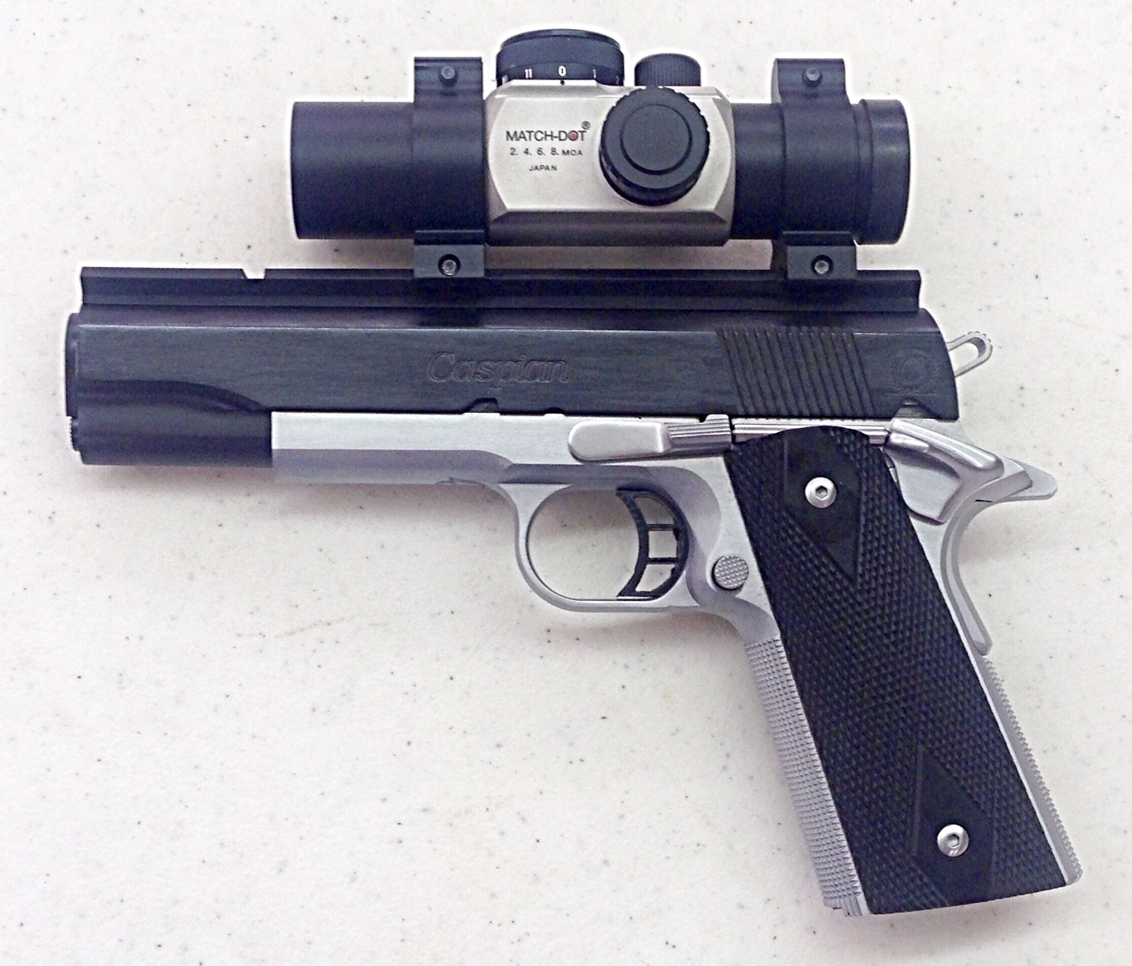 1911 Custom Bullseye | Clark Custom Guns