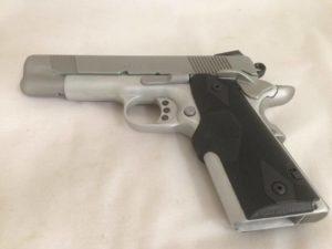 hard chrome handgun