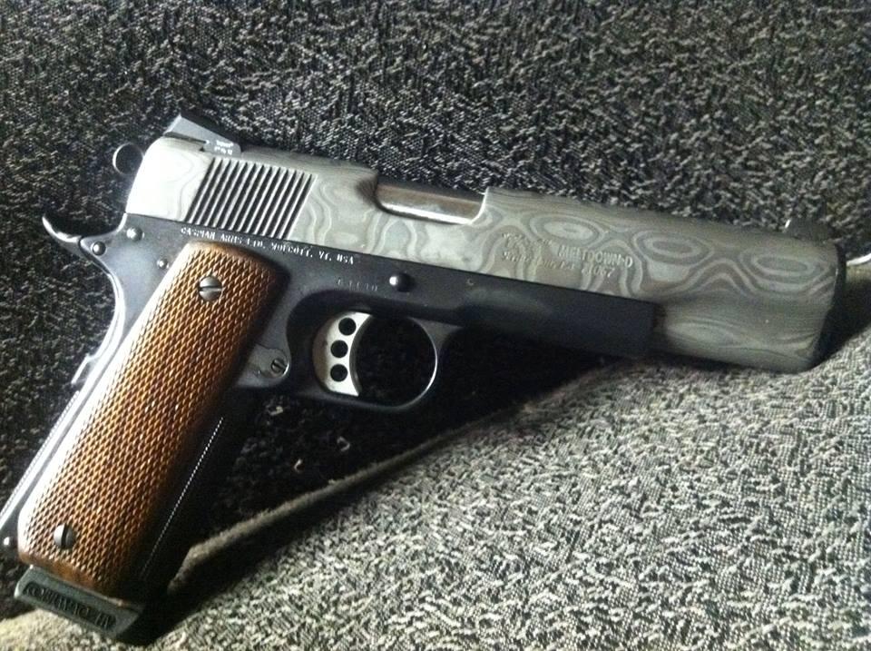 1911 Custom Meltdown   Clark Custom Guns