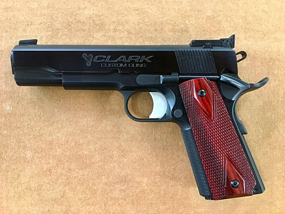 1911 Custom Combat | Clark Custom Guns M1911 Custom Mgs4